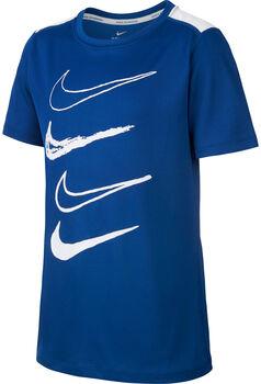Nike B Dri-FIT Top Graphic gyerek póló kék