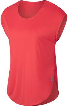 Nike City Sleek Running Top Nők narancssárga