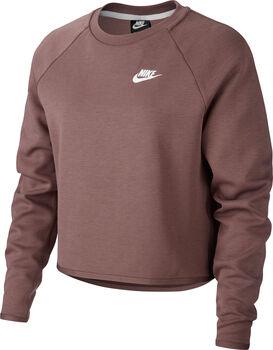 Nike W Tech Fleece Crew női pulóver Nők barna