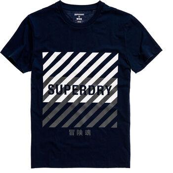 Superdry  Training Coresportférfi póló Férfiak kék