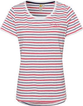 Roadsign Striped Summer női póló Nők piros