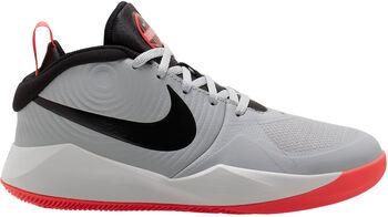 Nike Team Hustle D9 gyerek kosárlabdacipő szürke