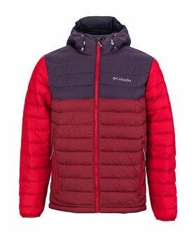 Columbia Powder Lite Hooden férfi kabát Férfiak piros