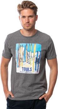 Heavy Tools Mock férfi póló Férfiak szürke
