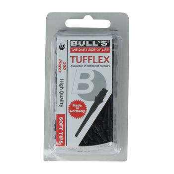 Bulls Tufflex Softtips fekete