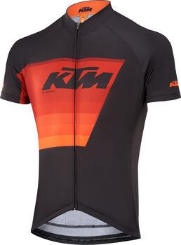 KTM Factory Line 2 férfi kerékpáros póló Férfiak fekete
