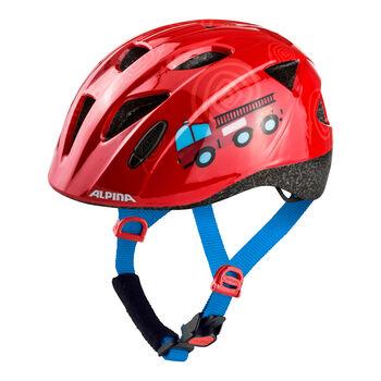 ALPINA Ximo Inmold gyerek kerékpáros sisak piros