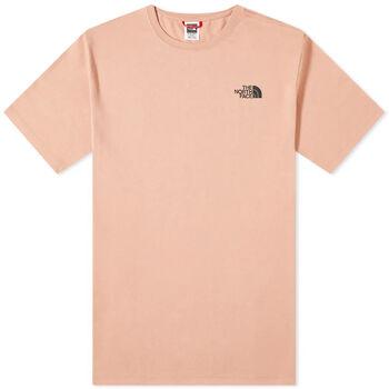 The North Face  S/S Redboxférfi póló Férfiak rózsaszín