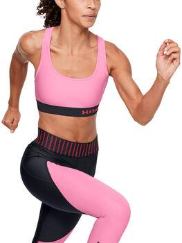 Under Armour Mid Crossback sportmelltartó Nők rózsaszín