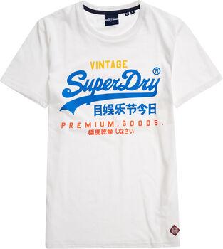 Superdry  TRI Tee 220férfi póló Férfiak fehér