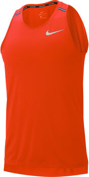 Nike Dri-FIT Miler férfi ujjatlan futófelső Férfiak narancssárga