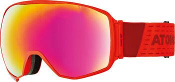 ATOMIC Count 360° HD felnőtt síszemüveg piros