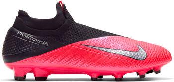 Nike Phantom Vision 2 Elite DF FG stoplis focicipő piros