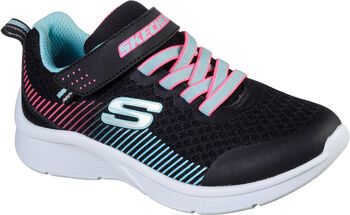 Skechers  Microspecgyerek fitneszcipő fekete