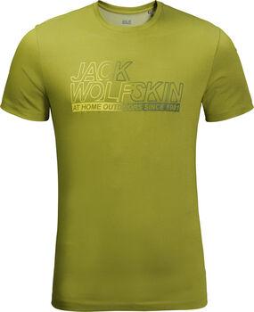 Jack Wolfskin Ocean T férfi póló Férfiak zöld