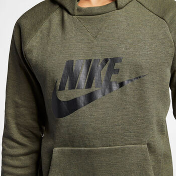 NIKE M Nsw Optic Hoodie Po Férfiak zöld