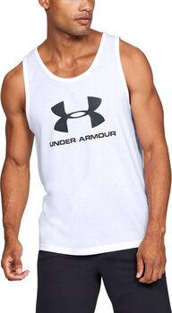 UNDER ARMOUR Sportsty.Logo férfi póló Férfiak fehér