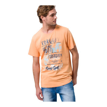 Roadsign Torquay Beach férfi póló Férfiak narancssárga