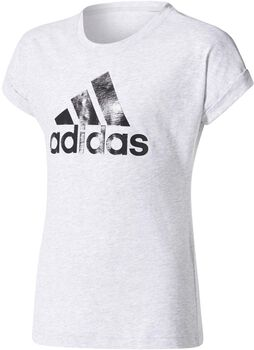 ADIDAS YG Logo Tee gyerek póló szürke