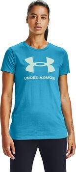 Under Armour Live Sportstyle Graphic SSC női póló Nők kék