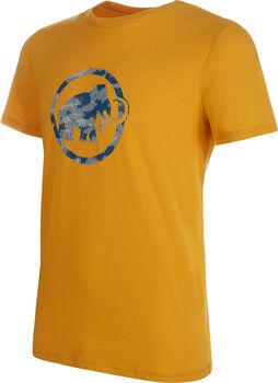 MAMMUT Logo ffi. póló Férfiak sárga