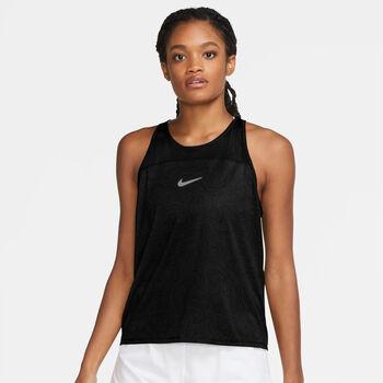 Nike  W NK RUN DVN MILERnői felső Nők fekete