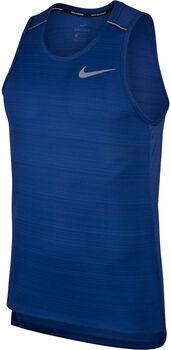 Nike Dri-FIT Miler Running Tank férfi ujjatlan futófelső Férfiak kék