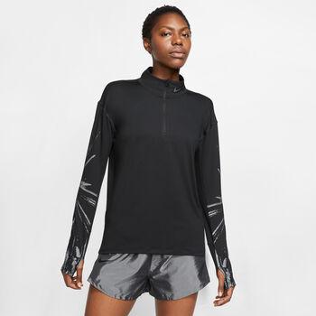 Nike Element Flash HZ női hosszú ujjú póló Nők fekete