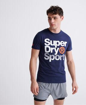 Superdry Core Sport Graphic férfi póló Férfiak kék