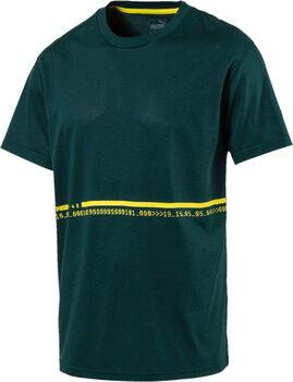 Puma Energy Triblend férfi póló Férfiak zöld