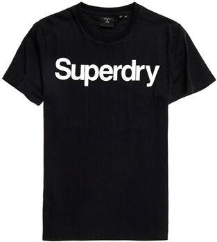 Superdry  Cl Ns Teeférfi póló Férfiak fekete