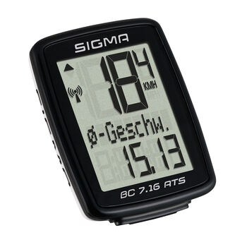 SIGMA BC 7.16 ATS kerékpáros computer fekete