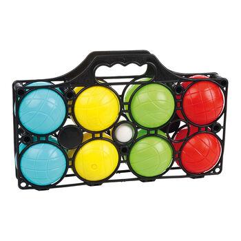 NOBRAND Boccia készlet8 golyó, 4 szín színes
