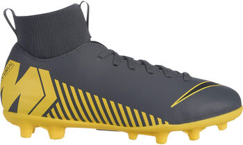 Nike Superflyx 6 Club MG Jr gyerek stoplis focicipő Fiú szürke