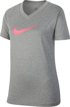 NIKE Gy.-T-shirt G NK DRY Lány szürke