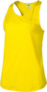 Puma A.C.E. Racerback Tank női top Nők sárga