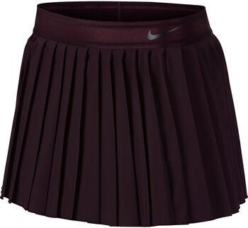 NikeCourt Victory Tennis Skirt Nők piros