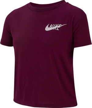 Nike DrI-FIT Big Kids' Short-Sleeve Training Top piros