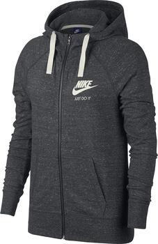 Nike Sportswear Gym Vintage Full-Zip Hoodie Nők szürke