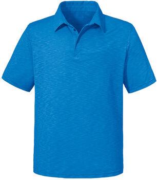 SCHÖFFEL Izmir férfi galléros póló Férfiak kék