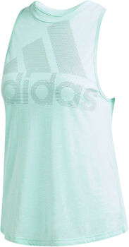 ADIDAS Magic Logo Tank női top Nők zöld