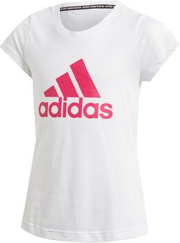 adidas YG MH BOS TEE Lány fehér