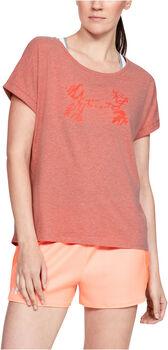 Under Armour Graphic Script női póló Nők rózsaszín