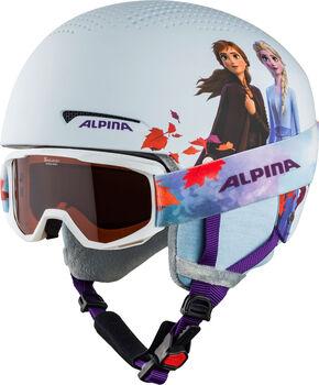 ALPINA Zupo Disney Set gyerek sisak törtfehér