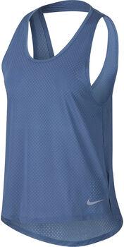 Nike Breathe Miler Running Tank Nők kék