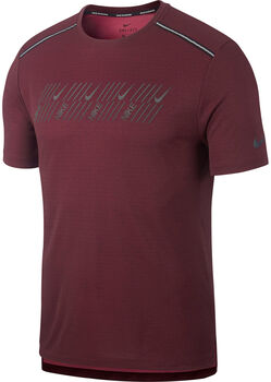 Nike DF Miler Tech SS Capsu férfi futópóló Férfiak piros