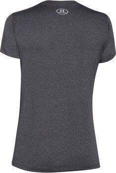 Under Armour Tech™ V-Neck SSV Solid női póló Nők szürke
