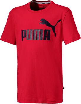 PUMA ESS Logo Tee gyerek póló piros
