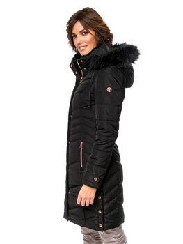 Heavy Tools Nimbi 20 női kapucnis kabát Nők fekete