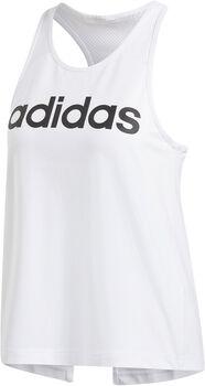adidas W D2M LO TANK Nők fehér
